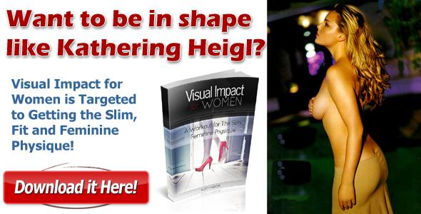 Katherine Heigl workout diet plan