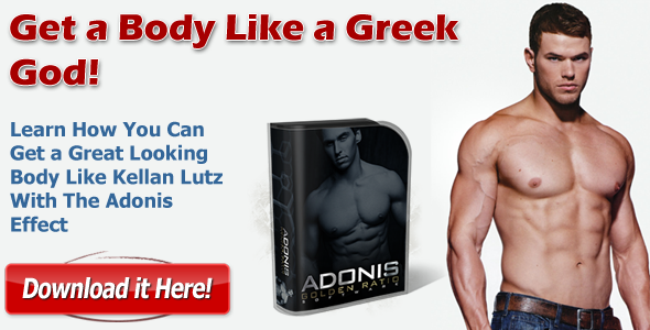 Kellan Lutz Adonis Golden Ratio Workout