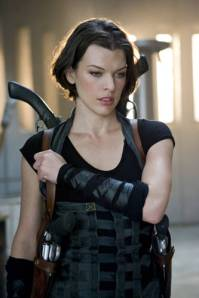 Milla Jovovich Workout