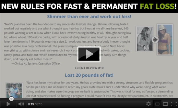 Review of Feast Your Fat Away Video